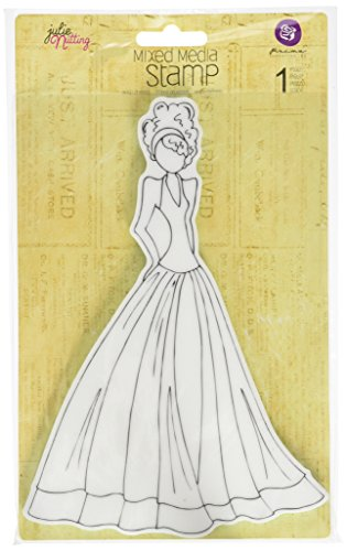 C&T PUBLISHING Mixed Media Doll Cling Rubber Stamps, Lorrena