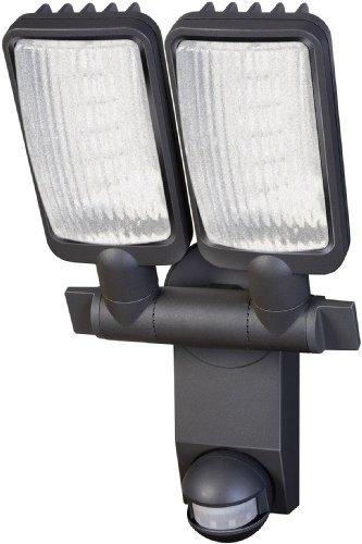 Brennenstuhl LED-Strahler Duo Premium City / LED-Leuchte für außen und innen mit Bewegungsmelder (IP44, drehbar, 31 Watt, 6400 K)