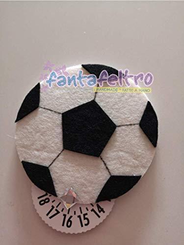 Disco Orario per auto Pallone Calcio - idea regalo simpatica tifoso uomo donna