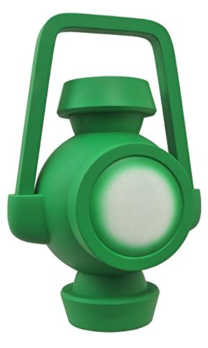 DC Comics Justice League Animated Lantern Battery Vinyl Bank Juguete (Verde)