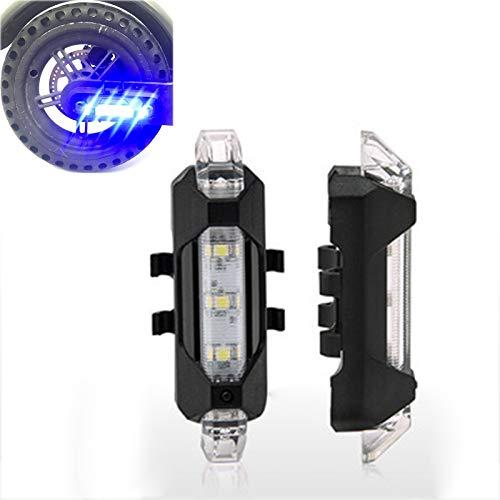 LICHIFIT - Tira de luces LED de advertencia para patinete eléctrico Xiaomi Mijia M365
