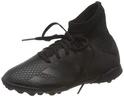 adidas Predator 20.3 TF J, Scarpe da Calcio Bambino, Core Black/Core Black/DGH Solid Grey, 34 EU