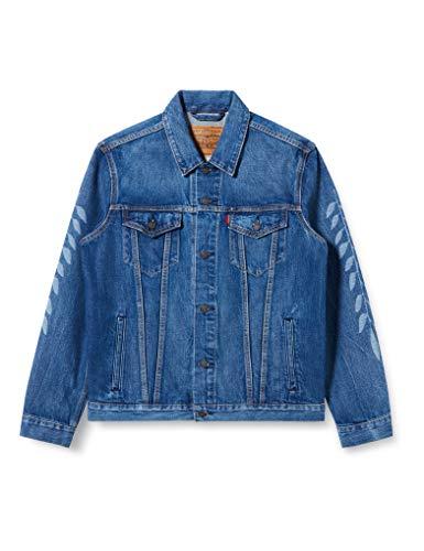 Levi's X Justin Timberlake Trucker Jacket Uomo 76104 0001 Denim - Taglia S