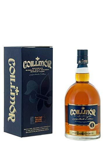 Coillmor Bavarian Single Malt Whisky Port Fassstärke 7 Jahre (700 ml)
