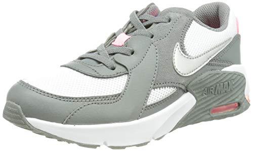 Nike Air MAX EXCEE (PS), Zapatillas para Correr Unisex niños, Smoke Grey Metallic Silver White Sunset Pulse, 33.5 EU