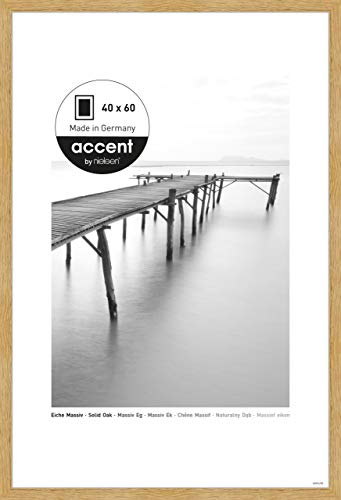 Nielsen Accent Holz Bilderrahmen Scandic, 40x60 cm, Eiche