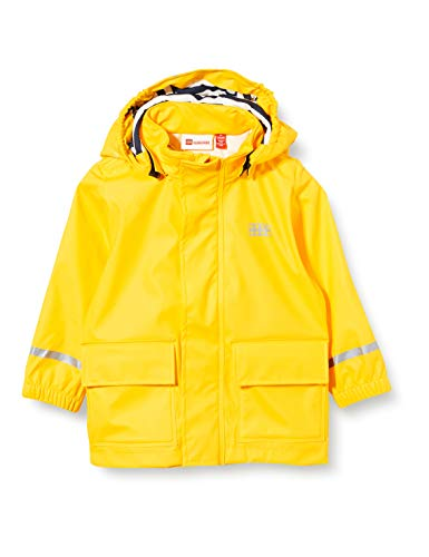 Lego Wear Lwjulio impermeable, Amarillo (Dark Yellow 225), 98 para Bebés
