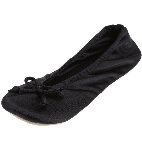 Totes ISOTONER Frauen Satin klassischen Ballerina-Pantoffel