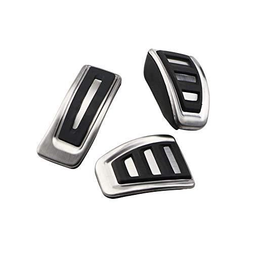 ZXC Deporte Pedales for Audi A4 B8 A6 A7 A8 S4 RS4, A5 S5 RS5 8T, Q5 8R SQ5 Combustible Freno del reposapiés Cubierta del Pedal Accesorios for automóviles Atmósfera Simple