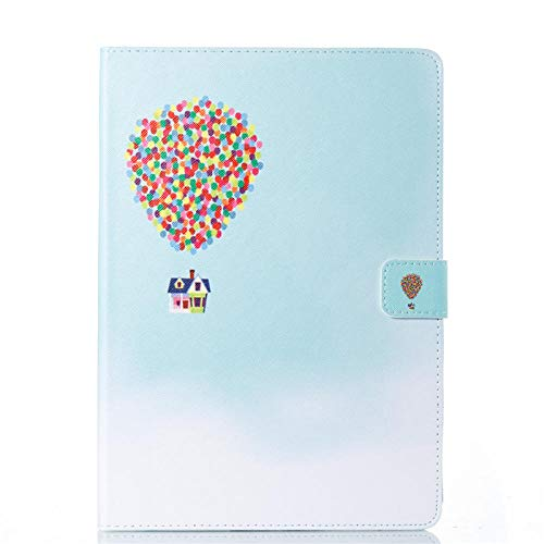 SUNMINGY Fashion Painted Case Cover For Apple Ipad 9.7 Tablet A1822 Leather Stand Flip Shell-4