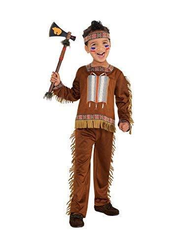 Boys Native American Costume - Toddler (3-4)