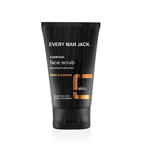 Every Man Jack Skin Clearing Face Scrub, Fragrance Free, 4.2 Fluid Ounce