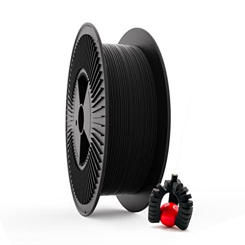 Filamento Elástico TPU FILAFLEX 60A PRO Dureza Shore/El más elástico (mejor que flexible)/Apto para los más expertos en impresión con flexibles en impresoras 3D (1.75 mm 3 kg. Negro)