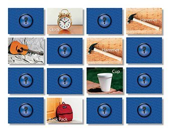 Photographic Memory Game - Everyday Objects by Stages Publishing