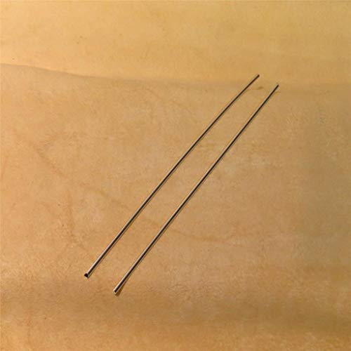 Golden State Silver 9999 Pure Silver 12 Gauge (0.080 in. / 2.03 mm) Colloidal Silver Generator Wire - Set of (2) 5 inch Rods - Guaranteed 99.99%+