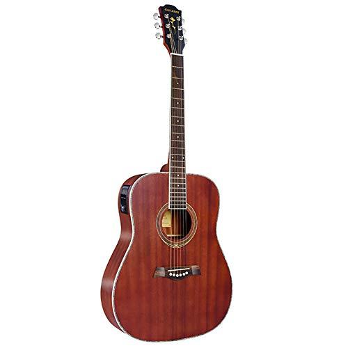 BLKykll Folk Gitaar, 41 inch volledige Billy elektrische doos gitaar tuner, zak, riem, picks, en gitaar snaren, Kerstmis spelen gek geschenken