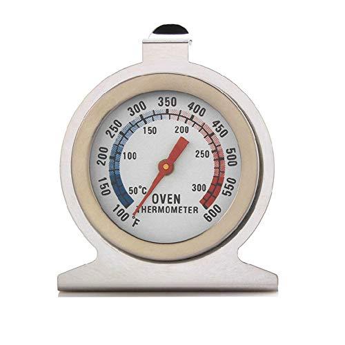 Termómetros para freír líquidos Termómetro de horno de acero inoxidable Medidor de temperatura de alta Grill Fry Chef Hornear rango de control de doble escala 50-300 °C para hornear la cocina casera