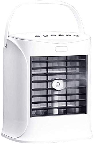 Luftkühler 3 in 1 Tragbar, Luftkühler und Befeuchter, Ersatzfilter, Mobile Klimaanlage mit Fernbedienung für Büro