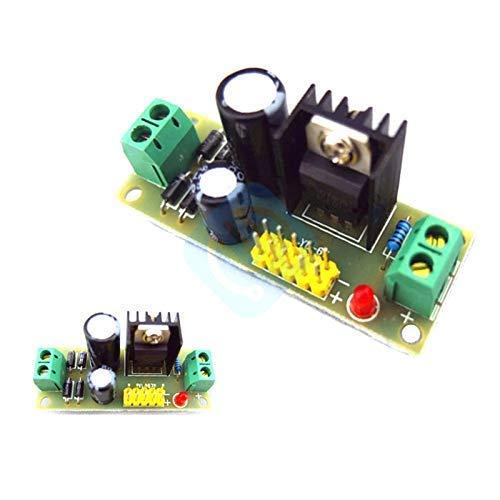 L7805 LM7805 Abwärtswandlerplatine 7,5 V-20 V bis 5 V Regler Buck Power Supply Module für Arduino