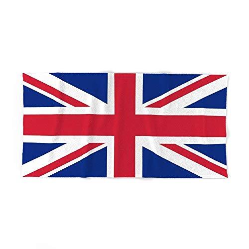 Ku Toalla de Baño Playa Piscina Bandera Reino Unido Union Jack 140 X 70 CM Microfibra