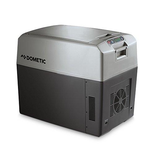 DOMETIC TropiCool TC 35FL - tragbare elektrische Kühlbox/Heizbox, 33 Liter, 12/24 V DC und 220 - 240 V AC für Auto, Lkw, Boot, Reisemobil und Steckdose