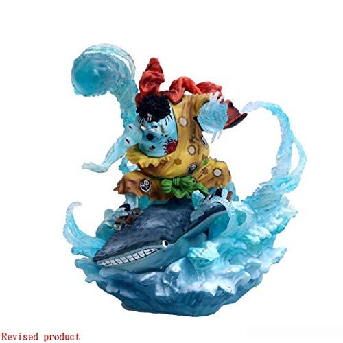 Yang baby De una Pieza de Retrato de Piratas: Whale Shark Hombre Jinbei PVC Figura GK Figura de acción -About 8.2 Pulgadas de Alto