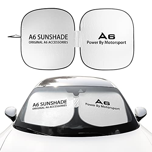 Parasol de Parabrisas Delantero Accesorios para automóviles Compatibles con AUDI A3 8P...