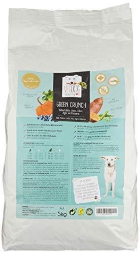 VEGDOG Vegetarisches Hunde Alleinfutter Green CRUNCH, 1er Pack (1 x 5 kg)