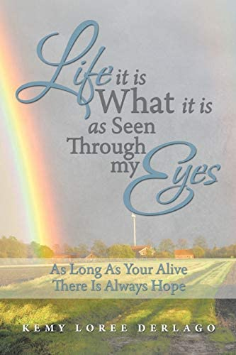 Life it is What it is as Seen Through My Eyes As Long As Your Alive There Is Always Hope product image