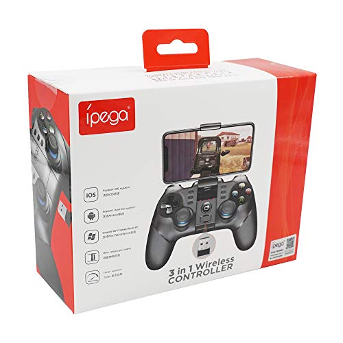 Mcbazel PG-9156 2.4G Wireless Gamepad Game Controller Joypad for Android/Windows PC (NOT for iOS)