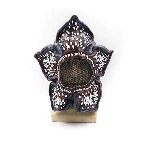 Kylewo vreemdeling dingen Demogorgon masker - latex kostuum kostuum hoofddeksels kannibaal bloem gezicht hoofd masker latex voor kinderen mannen vrouwen