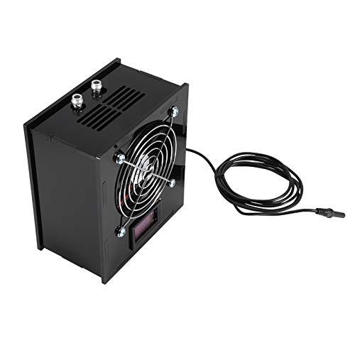 Durable con controlador de control de temperatura Diseño silencioso Enfriadores de acuario Ventilador de enfriamiento, Sistema de ventilador de enfriamiento de tanque de peces, para