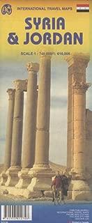 Jordan 1:610,000 & Syria 1:740,000 Travel map (International Travel Maps)