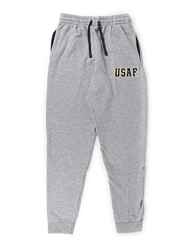 B-Wear Sportswear U.S. Air Force Pocketed Sweatpants (Athletic Heather) - Athletic Heather - Large