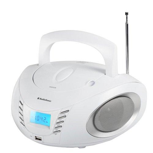 Smartwares CD-1593 Stereoradio – CD-Player – MP3 – USB – Weiß