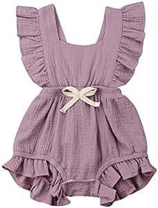 Luckycat Vestido para Niñas, Ropa Bebe Niña Vestido de Falda de sin Manga Vestidos Niña Fiesta Tutú Princesa Vestidos Tutú Falda