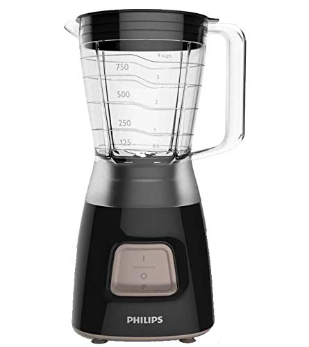 Philips Daily Collection Batidora HR2052/90 - Licuadora (1,25 L, Batidora...
