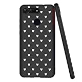 Yoedge Honor View 20 Case, Black Silicone with Personalised