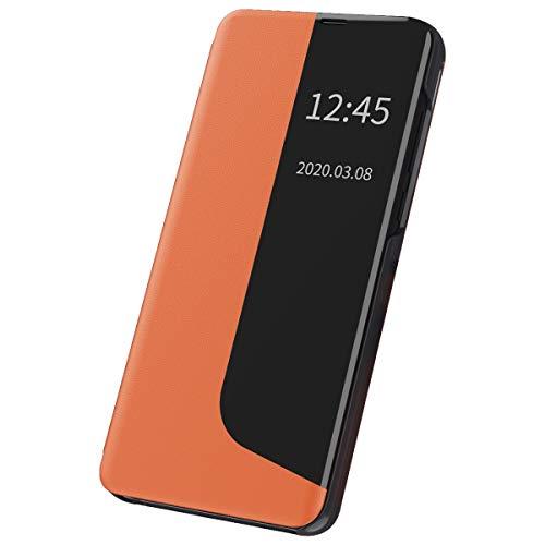 Funda para Huawei Mate 20 Pro, funda de piel, transparente, con función atril, 360 grados, antigolpes, de piel para Huawei Mate 20 Pro (5)