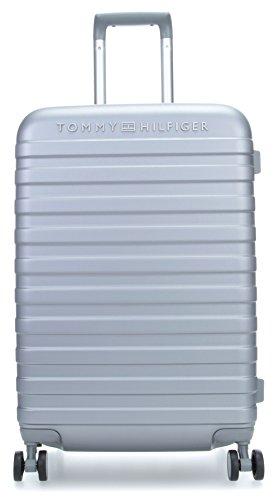 Tommy Hilfiger Tommy Lux Maleta con 4 Ruedas Gris 64 cm