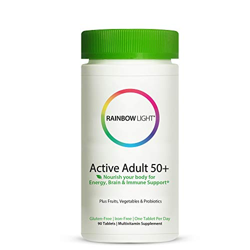 Healthy Aging: This comprehensive once daily multivitamin includes a 180 count supply, and provides the essential vitamins, minerals and Superfoods to support active adults 50+ Superfoods: Packed with organic Superfoods including spirulina, concentra...