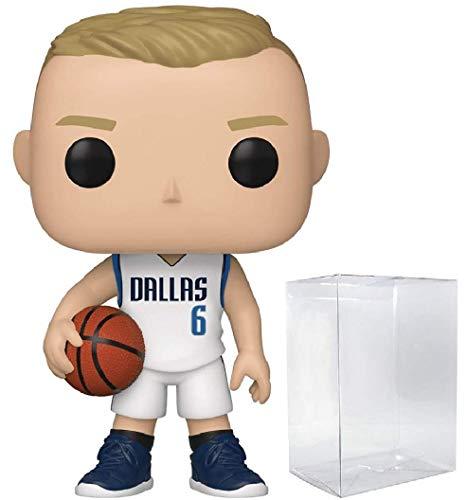 Kristaps Porzingis Dallas Mavericks POP! Sports NBA Action Figure (Bundled with Pop Protector to Protect Display Box)