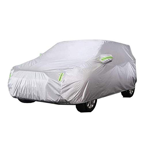 GSHWJS Autohoes, dik Oxford-doek voor binnen en buiten, anti-fouling, zonwering, regendichte warme afdekking, geschikt voor middelgrote modellen autoafdekking
