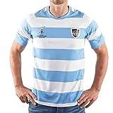 DIWEI Maillot De Rugby De L'Argentine 2019 / T-Shirt De Rugby À Manches Courtes De La Coupe du Monde du Japon, Polo D'entraînement De Match De Football XXL