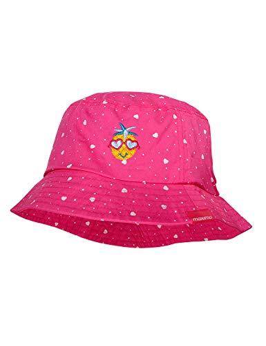 maximo Hut Chapeau De Soleil, Multicolore (Pink Rose-Herzen 64), 49 Bébé Fille