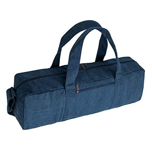Bolsa de transporte de lona con correa para esterilla de yoga - 160 mm x 225 mm