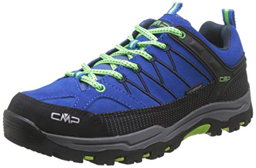 CMP Kids Rigel Low Shoes Wp Trekking-& Wanderhalbschuhe, Blau (Royal-Frog 94bd), 38 EU