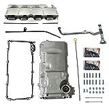 LOSTAR Muscle Car Engine Oil Pan Kit Fits LS1 / LS3 / LSA/LSX Engines...