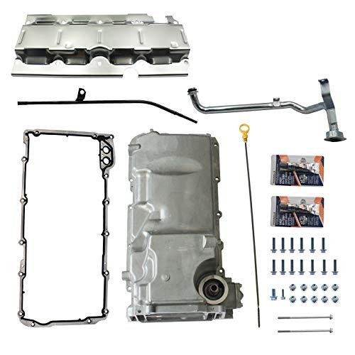 LOSTAR Muscle Car Engine Oil Pan Kit Fits LS1 / LS3 / LSA/LSX Engines 19212593