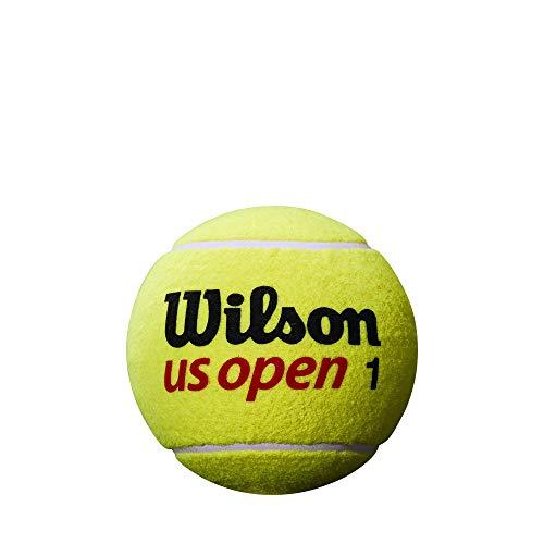 Wilson WRT1415U Pallina da Tennis US Open 5 Mini Jumbo, Ottima come Decorazione e per Autografi, Giallo, 12 cm, Oversize